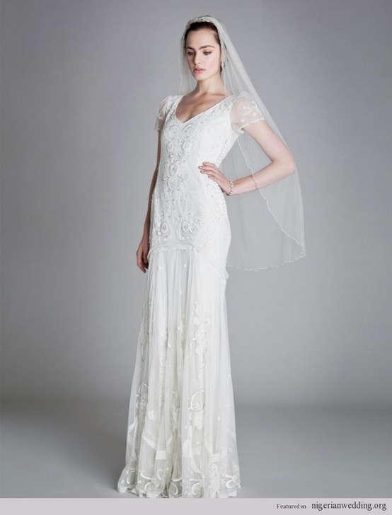Alice Temperley Bridal Vintage Wedding Gown