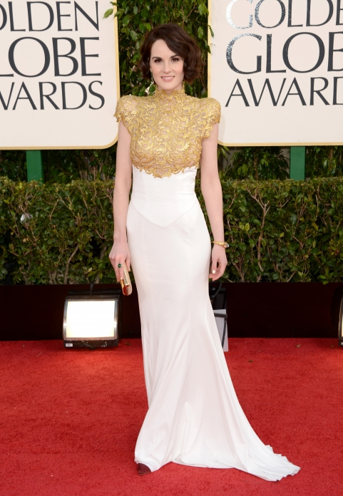 golden-globes-michelle-dockery