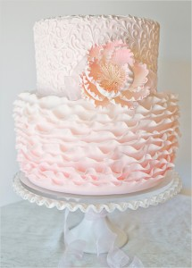 pinkruffledweddingcake-vintage-inspired-girly