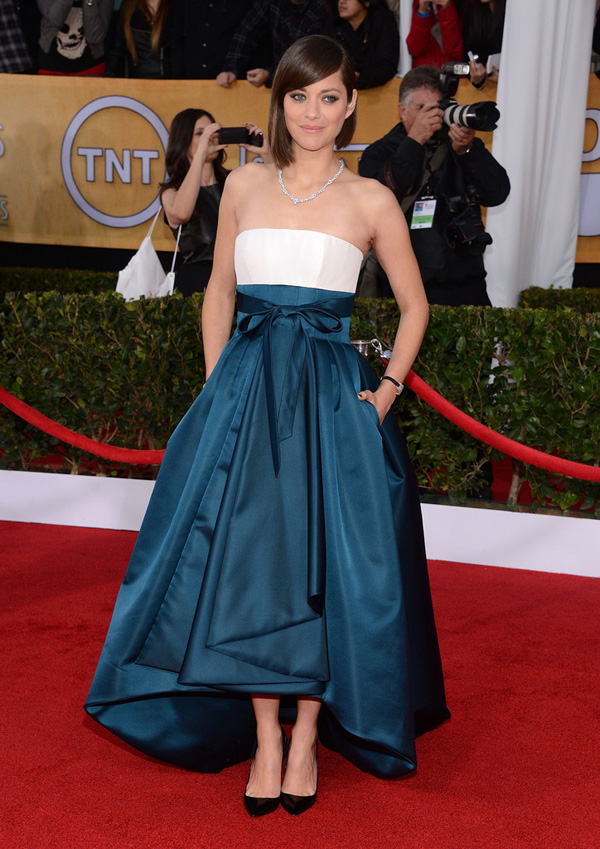 sag-awards-2013-Marion Cotillard-best-dressed-dior-fall