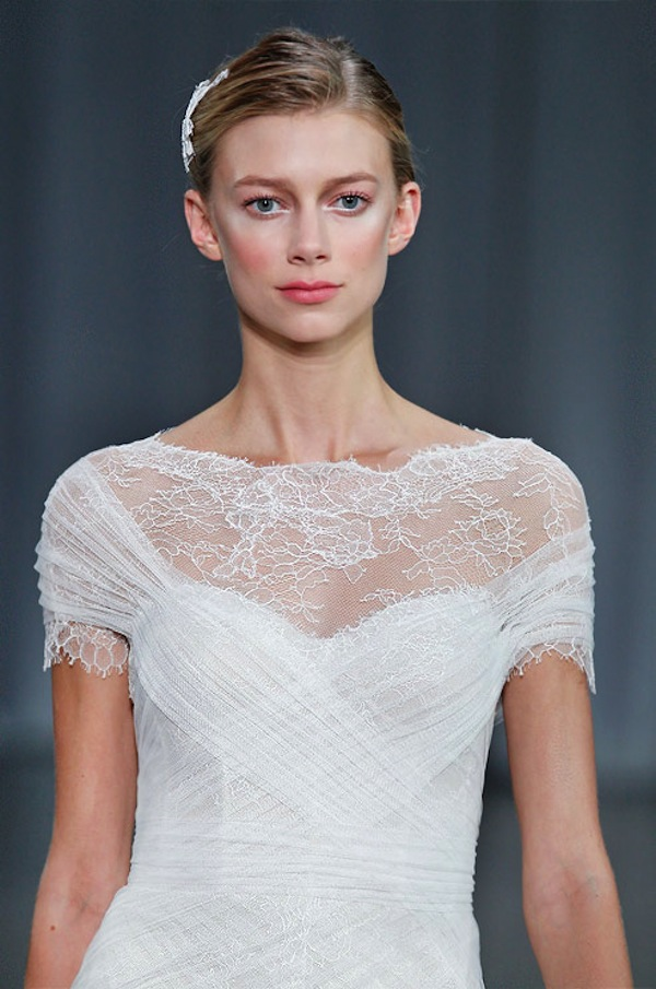 MONIQUE LHUILLIER SS13 BRIDAL FASHION WEEK 10/12/2012