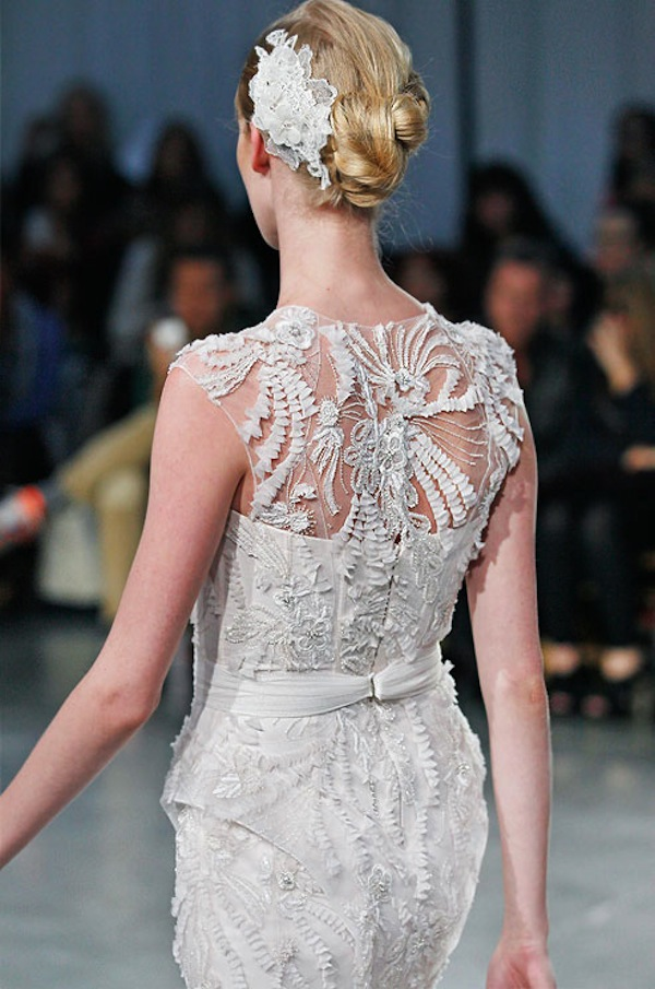 MONIQUE LHUILLIER SS13 BRIDAL FASHION WEEK 10/13/2012