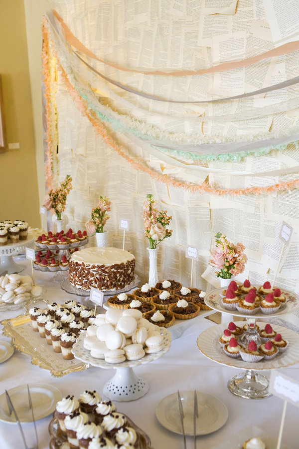 vintage-shabby-chic-wedding-dessert-bar-cake-treats-2