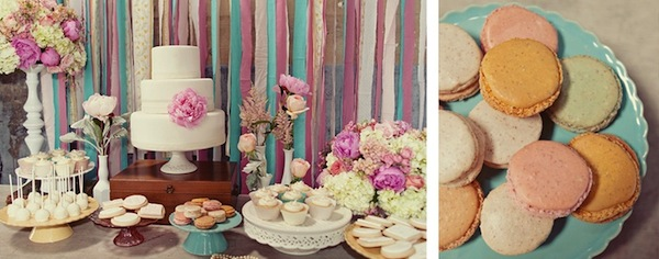 vintage-shabby-chic-wedding-dessert-bar-cake-treats-9