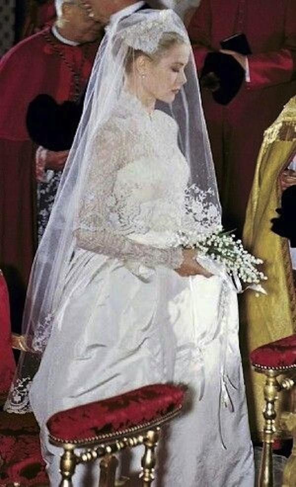 grace-kelly-wedding-dress-vintage