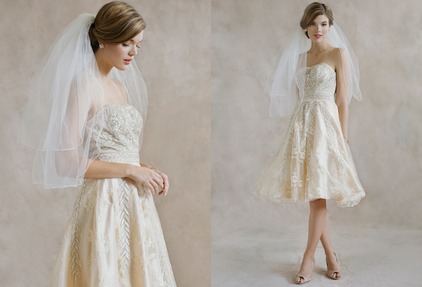Vintage Inspired Wedding Dress 44 Perfect  Ruche Bridal Line