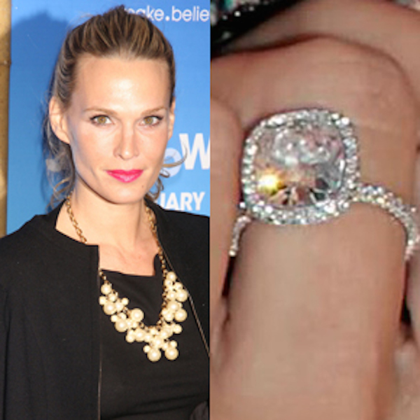 Celebrity Inspired Ring Bling Molly Sims Gorgeous Vintage Inspired Engagement Ring