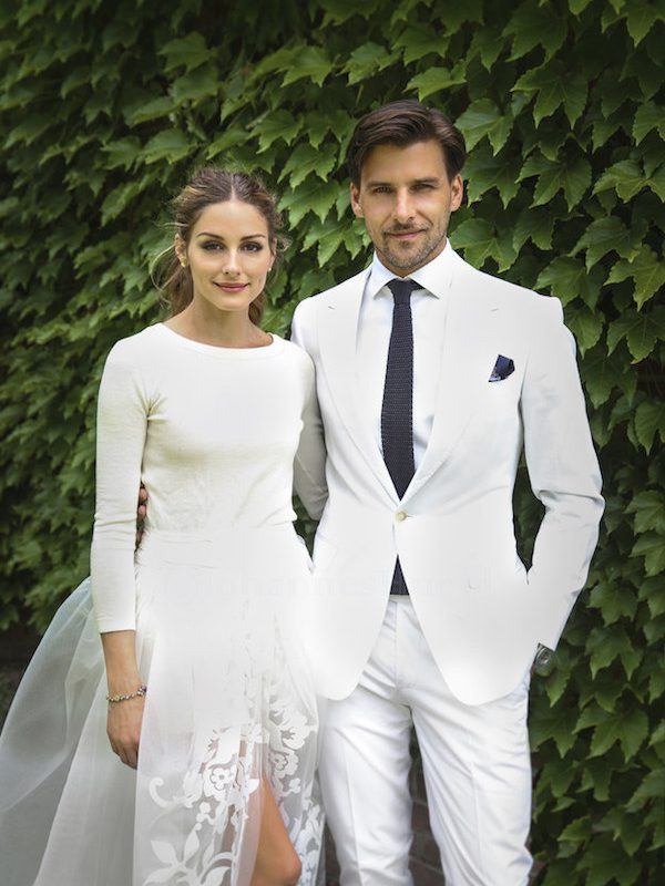 Olivia Palermo Marries Johannes Huebl in Secret Ceremony & wears Carolina Herrera!