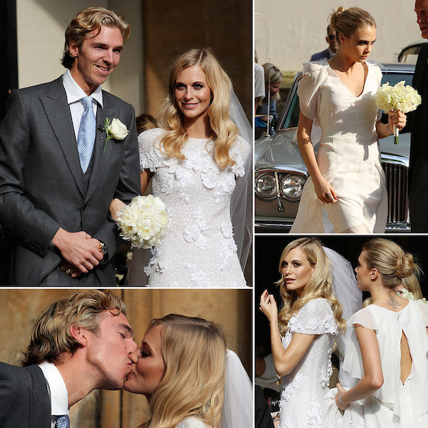 Model Poppy Delevingne marries her longtime partner James Cook in London wedding!