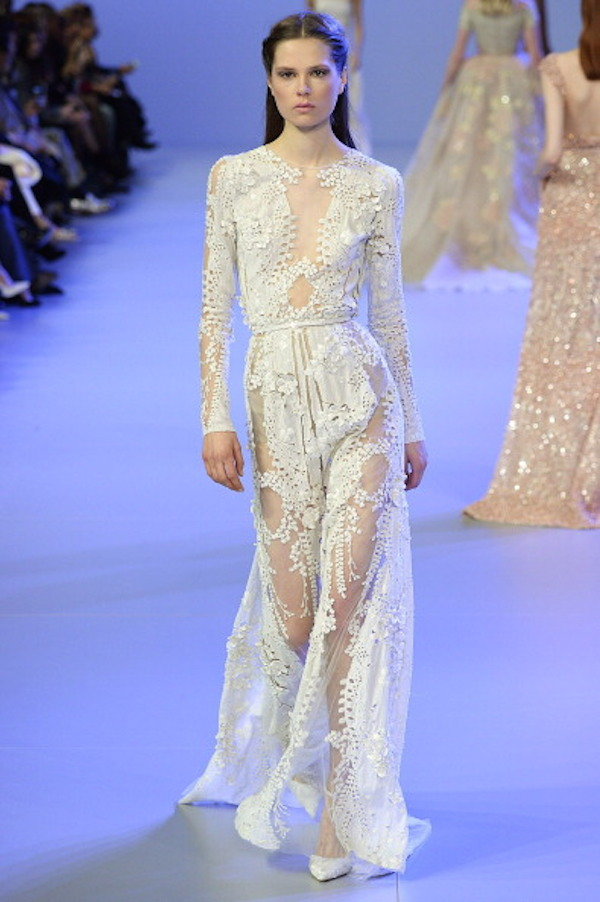 Elie Saab - Spring Summer 2014 Runway - Paris Haute Couture Fashion Week