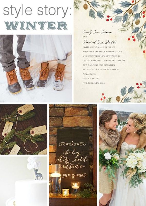 winter-wedding-ideas-vintage-winter-wedding-16