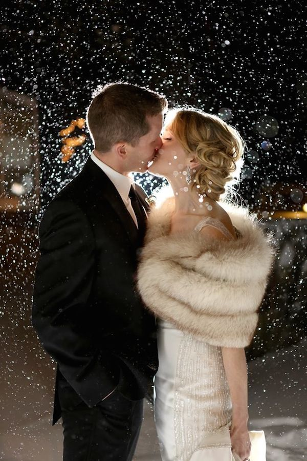 Winter Wedding Ideas Vintage 19