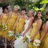 yellow-bridemaid-dresses-dessy-summer-wedding