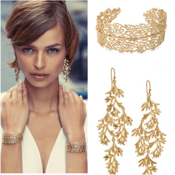 stella-and-dot_grace_chandeliers_earrings-vintage-gold-bridal-earrings-work-from-home-grace-cuff-bracelet-chandeliers