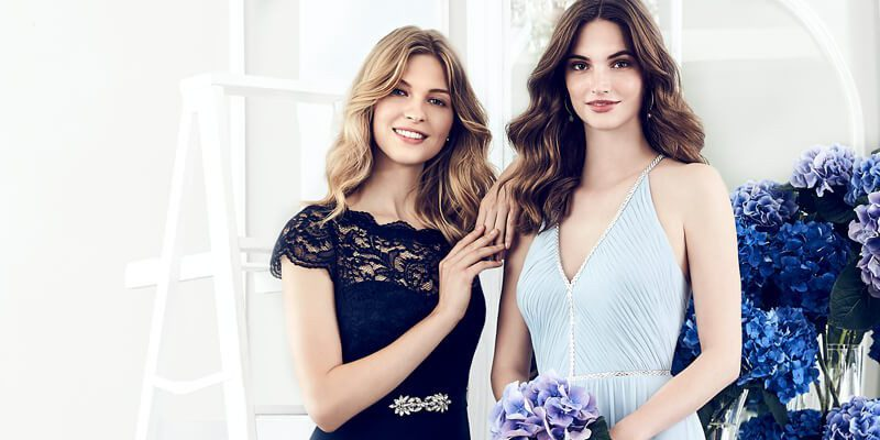 Jenny Packham's exclusive bridesmaid dress line with Dessy.com. Chic & Affordable.